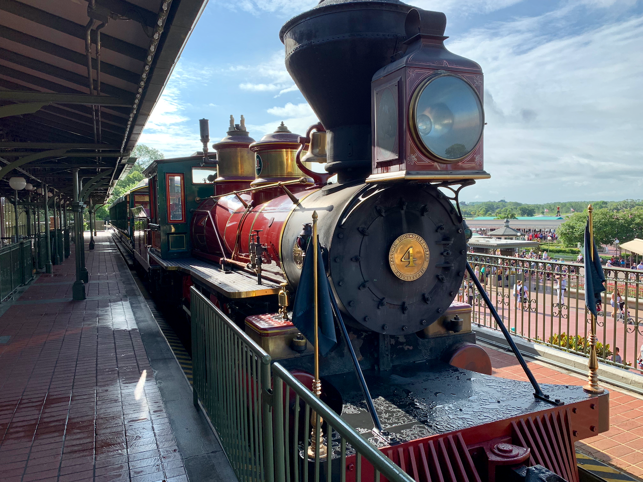 Magic Kingdom Train